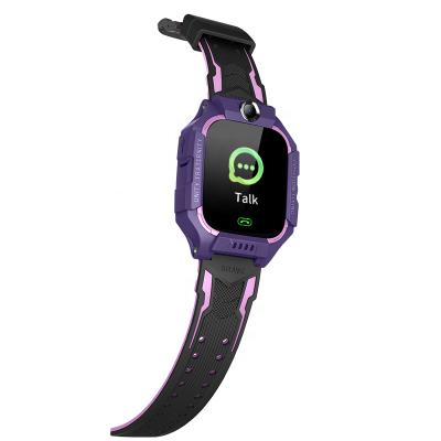 Детские смарт-часы Brave Q19 SIM (GPS, Camera, SOS, FlashLight, Waterproof) Purple