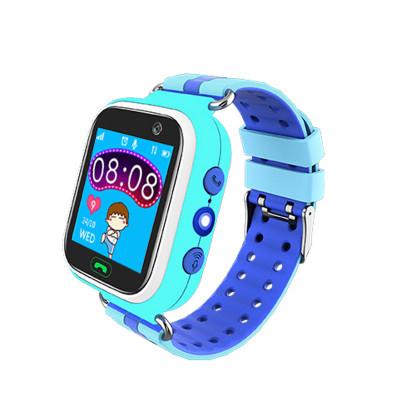 Детские смарт-часы Q523S (SIM,WIFI,GPS, SOS, Camera) Blue