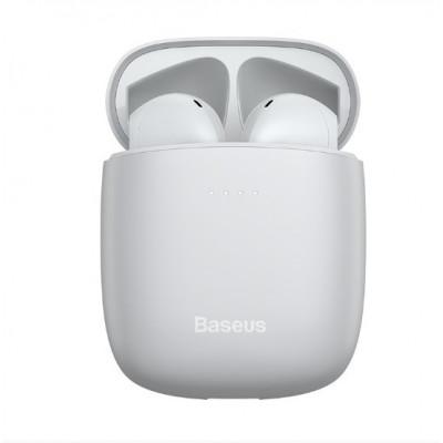 Наушники Bluetooth BASEUS Encok True Wireless Earphones W04 Pro White