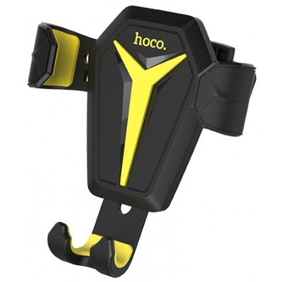 Держатель Hoco Kingcrab CA22 Black-Yellow