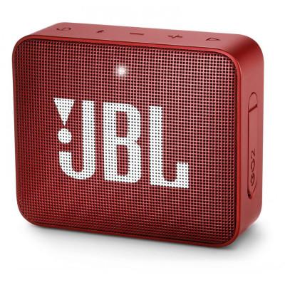 Акустическая система JBL GO 2 Rubby Red (JBLGO2RED)