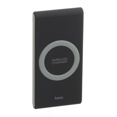 Power Bank Hoco Wireless Energetic B32 8000mAh Type-C, 1USB, 2.1A (Black)
