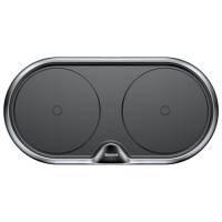 Беспроводное ЗУ BASEUS Dual Wireless Charger 10W, QC (plastic type) (Black)