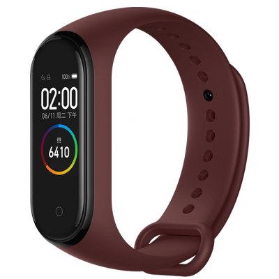 Фитнес-браслет Xiaomi Mi Smart Band 4 Wine Red Global Version (MGW4050CN)