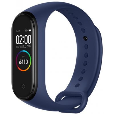 Фитнес-браслет Xiaomi Mi Smart Band 4 Blue Global Version (MGW4049CN)