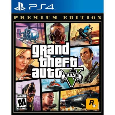 Игра GTA 5 PREMIUM EDITION (русская версия)