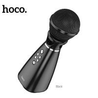 Караоке микрофон HOCO Hi-song K song microphone BK6 Black