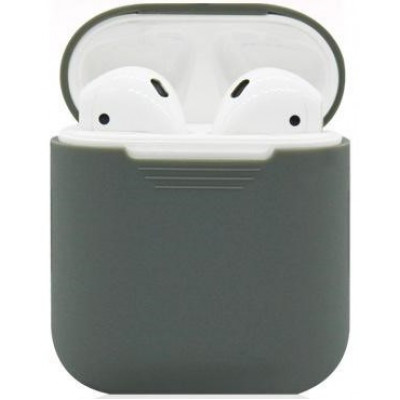Чехол Silicone Case Apple AirPods Grey