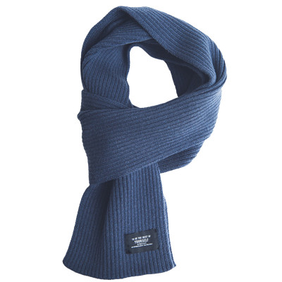 Шарф Xiaomi FO Fashion Warm Velvet Knit Scarf Blue