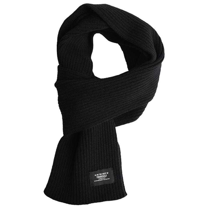 Шарф Xiaomi FO Fashion Warm Velvet Knit Scarf Black