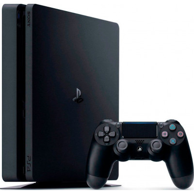 Sony PlayStation 4 Slim (PS4 Slim) 1TB Black