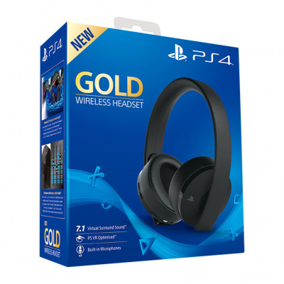 Наушники PlayStation Gold Wireless Headset 7.1 Black