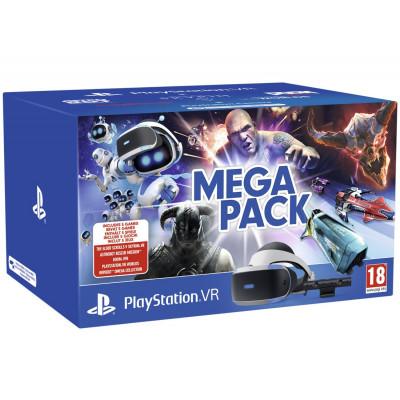 Playstation VR v2 MEGA PACK camera + 5 игр