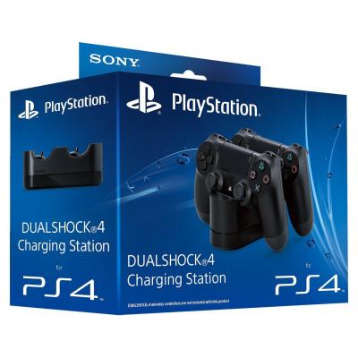 Док-станция для зарядки Sony Dualshock 4 charging station (9230779)