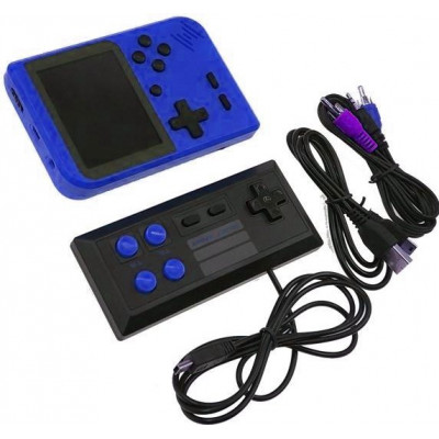 Игровая приставка RETRO Game Box 400 in 1 Blue +Джостик