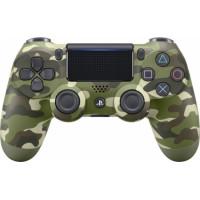 Sony DualShock 4 V2 Green Camouflage (9895152)