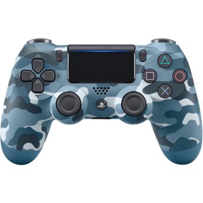 Sony DualShock 4 V2 Blue Camouflage (9726111)