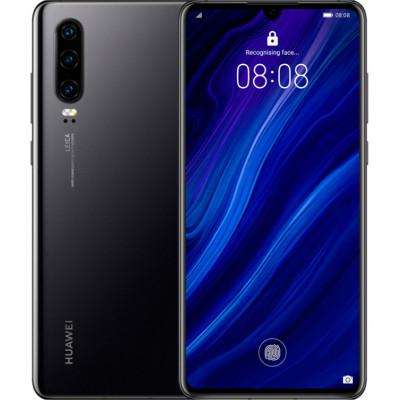 Huawei P30 6/128Gb Black (51093NDK) (UA UCRF)