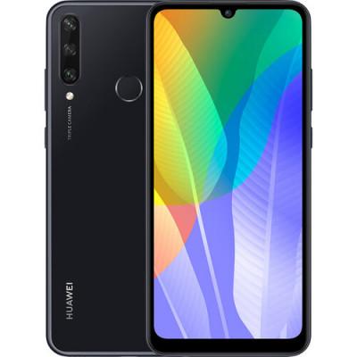 Huawei Y6p 3/64Gb Midnight Black (51095KYP) (UA UCRF)
