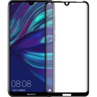 Защитное стекло Huawei Y6 2019 5D Black (Полный клей)