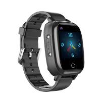 "Детские смарт-часы T5S Thermometer, HR&BP (1.3"", IP67, Камера, 4G Video - звонки, LBS/GPS/WiFi) Black"