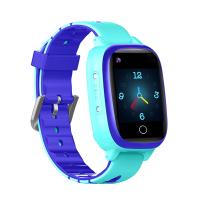 "Детские смарт-часы T5S Thermometer, HR&BP (1.3"", IP67, Камера, 4G Video - звонки, LBS/GPS/WiFi) Blue"