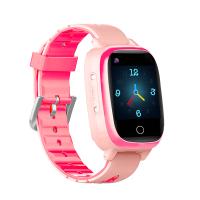 "Детские смарт-часы T5S Thermometer, HR&BP (1.3"", IP67, Камера, 4G Video - звонки, LBS/GPS/WiFi) Pink"