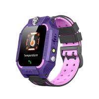 "Детские смарт-часы W02S Thermometer (1.44"", IP67, Камера, LBS) Purple"