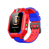 "Детские смарт-часы W02S Thermometer (1.44"", IP67, Камера, LBS) Red"