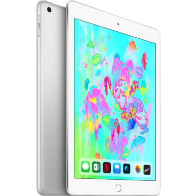 Apple iPad 9.7' (2018) Wi-Fi+LTE 128Gb Silver (MR732)