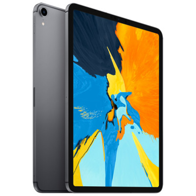 Apple iPad Pro 11' (2018) Wi-Fi+LTE 64Gb Space Gray (MU0M2, MU0T2)