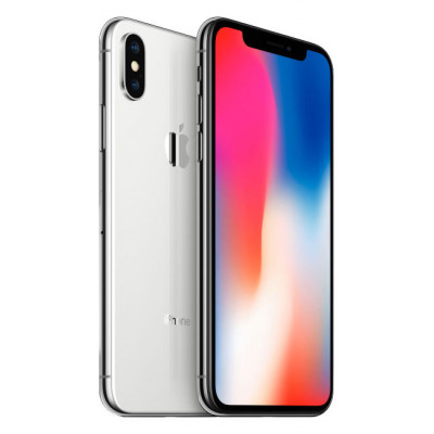 Apple iPhone X 256Gb Silver (Refurbished)
