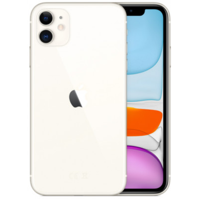 Apple iPhone 11 128GB White (MWM22)