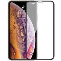 Защитное стекло iPhone XS MAX 5D Black