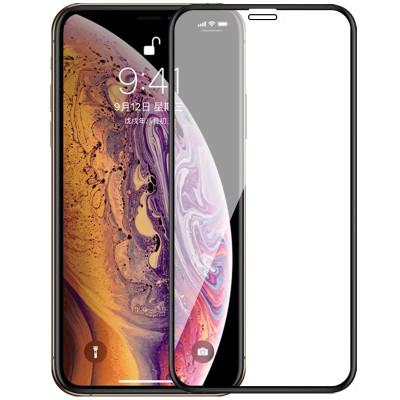 Защитное стекло iPhone XS 5D Black