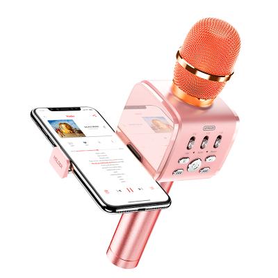 Караоке микрофон JOYROOM with Holder JR-MC3 Pink