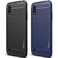 Силиконовый чехол Samsung Galaxy A01 Carbon