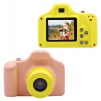 "Детская цифровая фото-видео камера 1.5"" LCD UL-1201 |1080P, 5MP| Pink"