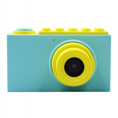 "Детская цифровая фото-видео камера waterproof case 2"" LCD UL-2018 |1080P, 8MP| Blue"