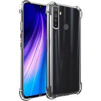 Силиконовый чехол Samsung Galaxy A21s Усиленный (Прозрачны)