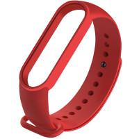 Силиконовый ремешок для Xiaomi Mi Band 5 Dark Red