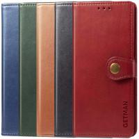 Чехол-книжка с застежкой для Poco X3 / X3 Pro (Black/Blue/Green/Red/Brown)