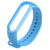 Силиконовый ремешок для Xiaomi Mi Band 5 Light Blue