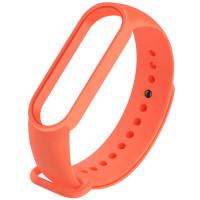 Силиконовый ремешок для Xiaomi Mi Band 5 Orange