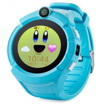 Детские смарт-часы Smart Baby Watch Smartix Q360 Blue (G610)