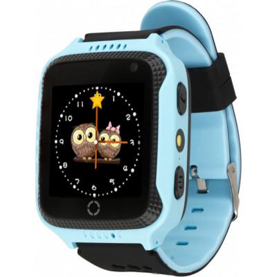 Детские смарт-часы Smart Baby Watch Q529 с GPS трекером Blue