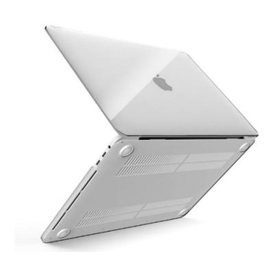 "Чохол-накладка для MacBook Air 13"" (2018-2020) Hard Jacket Cover Series Clear"