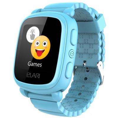 Детский телефон-часы с GPS трекером Elari KidPhone 2 Blue (KP-2BL)