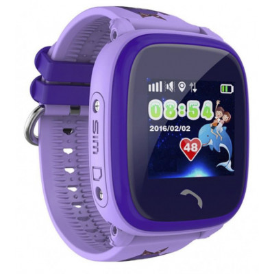 Смарт-часы Smart Baby Watch Df25 Violet