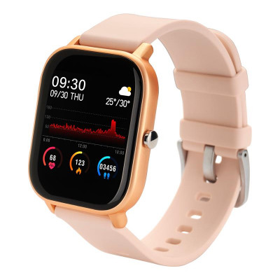 Смарт-часы Globex Smart Watch Me Gold Rose